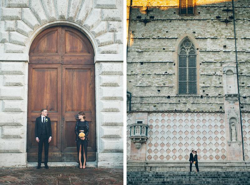 perugia italy wedding winter