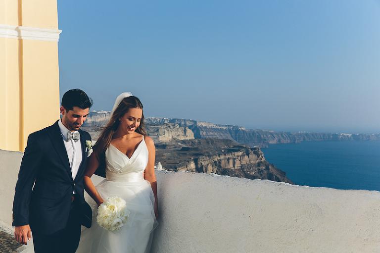 Santorini Destination Wedding Greek Islands Elena